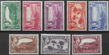 More details for montserrat 1938-48 kgvi sg101/108 part set of p13 stamps to 1/-   mint hinged