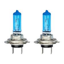 2x H7 100W SUPER WHITE XENON EFFETTO BLU VETRO Proiettore Alogeno Lampadine 12v