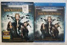 SNOW WHITE & The HUNTSMAN (Blu-Ray + DVD + Digital Copy 2015, 2-Disc Set) New