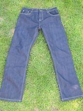 Mens' New Indigo Denim Jeans, Large W36  L32