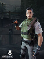 MOMTOYS 1/6 Resident Evil Chris Redfield Action Figure 12in. Model Toy