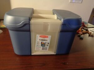 Rubbermaid CURVER Storage Craftainer Craft Sewing Tool Box Tote Organizer 15x10