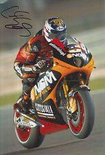Colin Edwards Firmato a Mano NGM Mobile Forward Racing 12x8 foto MOTOGP 9.