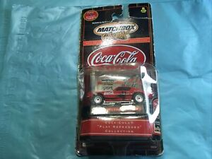 Matchbox Collectible  1971 Chevy Camero Z-28 1/64  Die Cast Coca Cola #4 New