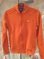 Pharrell Williams Adidas Track Jacket In Orange. Mens 2XS (Fits Women's Small)