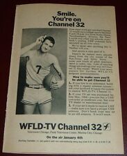 1966 TV AD~WFLD UHF CHANNEL 32 FIRST DAY ON THE AIR~CHICAGO~FIELD ENTERPRISES