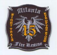 Atlanta Fire Rescue Department Company 15 Patch Georgia GA