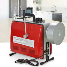 Electric Power Machine Auger Cable Drain Clog Cleaner Snake Pipe Sewer 400 Rmin