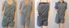 Topshop Cotton Sleeveless Playsuits for Women