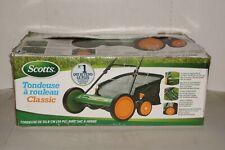 Scotts Reel Lightweight Lawn Mower 20-in Grass Catcher Manual Walk Behind