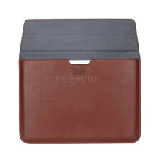Brown Leather Laptop Protective Sleeve Bag Case Skin For 13inch Laptop Ultrabook