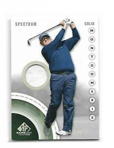 2013 SP Game Used Colin Montgomerie #13 Spectrum Tour Shirt 21/25