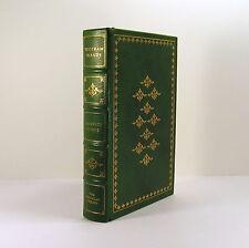 Tristram Shandy by Laurence Sterne, Austen illust. 1980 Franklin Full Leather