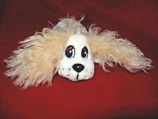 Mattel Pound Puppies 2004 cream plush cocker spaniel puppy dog
