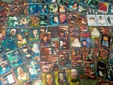 HUGE Lot of 214 Buffy the Vampire Slayer & Angel Trading Cards