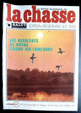 La Chasse n° 347 de Aout 76; Le tir séléctif du Chevreuil/ Benelli / Ball-Trap