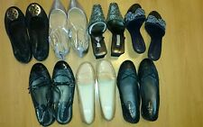 Lot of 7 NEW & Preowned women's shoes 8/8.5 Cole Haan, Tory Burch and others