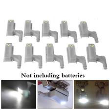 1pcs LED Sensor Light Kitchen Cabinet Cupboard Closet Wardrobe Hinge Warm Lights