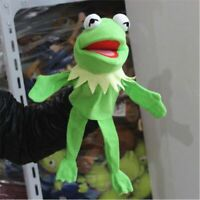 Half Body Kermit the Frog Hand Puppet Plush Jim Henson Muppets Kids Toys Gift