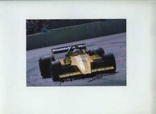 Arturo Merzario Team MERZARIO A1B USA GRAND PRIX 1979 firmato Fotografia