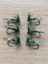 Viva Themed Cruncher Size 12 Barbless Trout Fly
