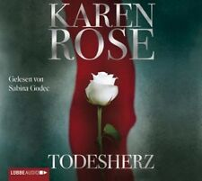 SABINA GODEC - KAREN ROSE: TODESHERZ 6 CD HÖRBUCH KRIMI/THRILLER NEU