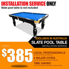 Slate Pool Table Installation Service Local Professionals 8FT Snooker