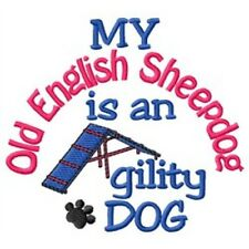 My Old English Sheepdog is An Agility Dog Short-Sleeved Tee - Dc1764L
