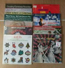 Christmas Holiday 33 RPM Records