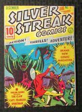 1975 SILVER STREAK COMICS #1 Reprint FN 6.0 Don Maris / Capt Fearless