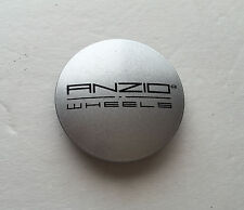 "(1) ANZIO WHEELS Center Cap, N32, 2-1/2"" SILVER 64mm"