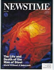 NEWSTIME  magazine May 1963 Life and Death of Superman. *VF+NM