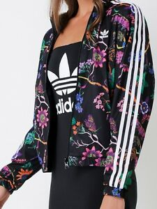 Oriental Insatisfecho Botánico  adidas Track Jacket Floral Activewear Jackets for Women for sale | eBay