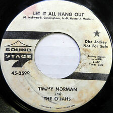 THE O'JAHS 45 Let It All Hang Out SOUND STAGE 7 Promo #658