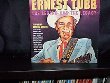 ERNEST TUBB THE LEGEND AND THE LEGACY - RARE UK CD NM
