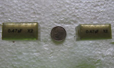 EVOX RIFA .47uF 275VAC 275V X2 metalized paper EMI suppression capacitors 2 pcs
