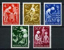 Nederland 1962 Kinderzegels vrije tijd 779-783 POSTFRIS cat waarde € 5,50