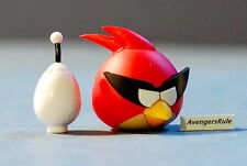 K'NEX Angry Birds Mystery Series 2 Red Bird Space and White Egg Space