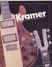 VINTAGE MUSICAL INSTRUMENT CATALOG #10476 - 1978 KRAMER ELECTRIC GUITARS