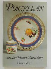 Günter Meier Porzellan aus der Meissener Manufaktur Meissen