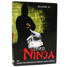 Card Ninja - Magic Tricks Dvd - New