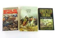 Lot of 3 CIVIL WAR Books Paperback Embattled Courage Battle Cry of Freedom