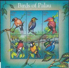 Palau 2002 Uccelli (II) 1704A-1704F mnh