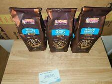 Dunkin Donuts Three Pounds Ground French Vanilla Blend Coffee (GROUND) Medium