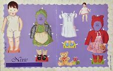 Nixie Doll Mag. Paper Doll, Joan E. Allen Artist, 2004