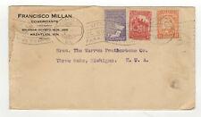 Mexique timbres sur lettre ancienne / B5A