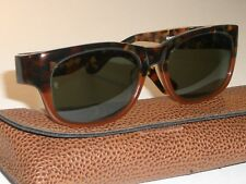 VINTAGE BAUSCH & LOMB RAY BAN W1414 ANTIQUE TORTOISE G15 UV BOHEMIAN SUNGLASSES