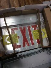Elite Lighting Elx-606R, Recessed Led Edge-Lit Exit Sign