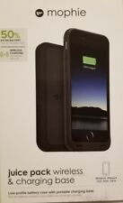 NEW OEM Mophie Juice Pack wireless and charging base 50%  iPhone  6s-Black