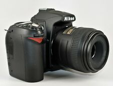 Nikon D90 with Nikon Micro 40mm Lens and Nikon ML-L3 Remote Control